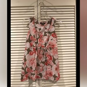 Tommy Bahama Multicolor Sleeveless Floral Blouse